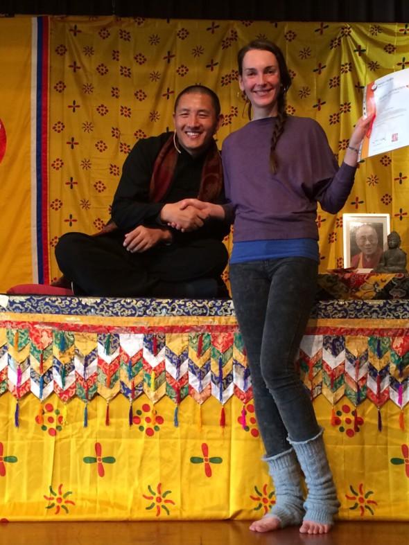 Lu Jong certification with Tulku Lama Lobsang Rinpoche